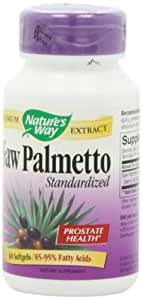 Nature's Way Saw Palmetto, 60 Softgels