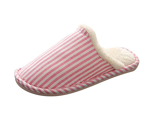 Belle Chaud Chaussons Chaud Slippers Pantoufles Femmes Pantoufles Hiver Confortable pink Hommes Hiver KwBqyUH6Tg