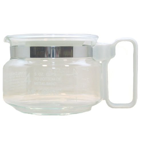 Mr. Coffee 4-Cup Carafe, White by Mr. Coffee