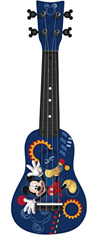 First Act Guitar Tuning (First Act MO385 Disney Mickey Mouse Mini Guitar Ukulele)