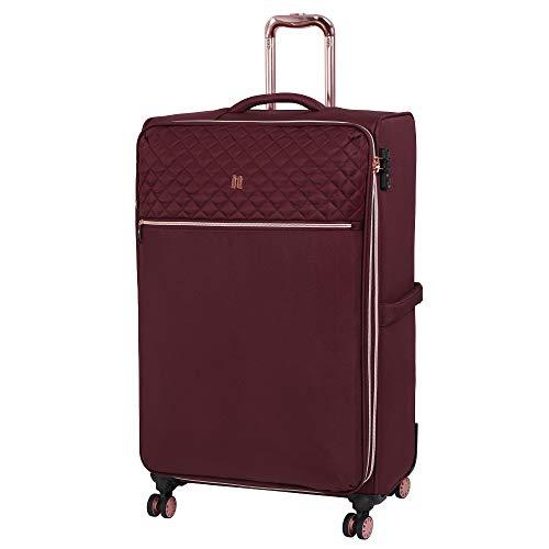it luggage Divinity 8 Wheel Lightweight Semi Expander Large With Tsa Lock Suitcase, 80 cm, 125 L, Zinfandel