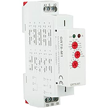 Baomain AC 110V H3Y-2 Time Delay Relay Timer 10Min DPDT with Socket on omron solid state timer, omron h3y-2 12vdc, omron time delay relay on 60 min, omron h3y-4,