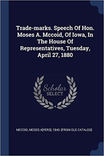 Trade-marks. Speech Of Hon. Mo...