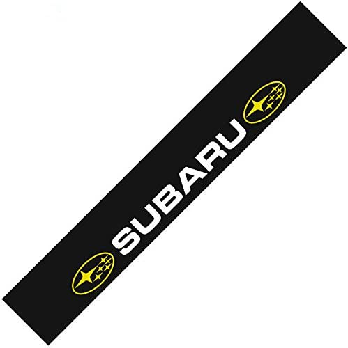 Auto Banner Car Front Rear Windshield Decal Reflective Window Sticker For Subaru