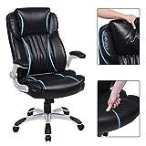 SONGMICS Extra Big Office Chair, High Back PU