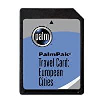 PalmOne PalmPak Travel Card: European Cities (m125, m130, i705 & m500 series)