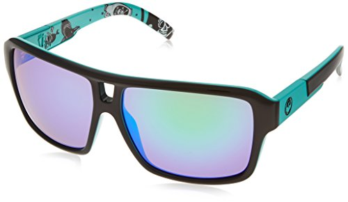 Dragon Alliance The Jam Owen Wright Sunglasses (Black/Green, Green Ion)
