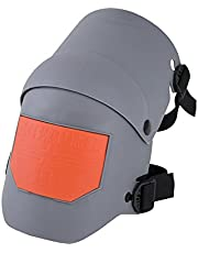 Sellstrom 96110 KneePro Knee Pads - Ultra Flex III - Heavy Duty Protection and Comfort for Construction, Gardening, Army, Flooring Work – Grey and Orange