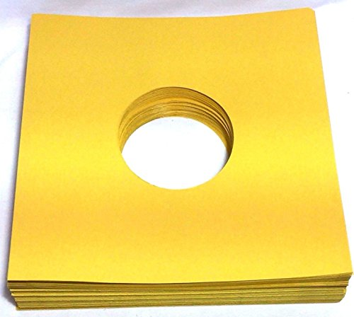 Sleeve Record Capitol - (100) 78rpm Record Sleeves Golden Brown Paper Acid-Free 28lb. Stock 10