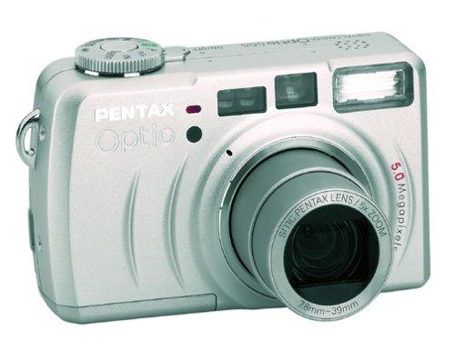 (Pentax Optio 555 5MP Digital Camera w/ 5x Optical Zoom)