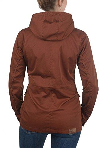 Chaqueta Mujer Capucha Anja 6792 Fox Entretiempo Brown Desires Abrigo De con para Y586RqZ