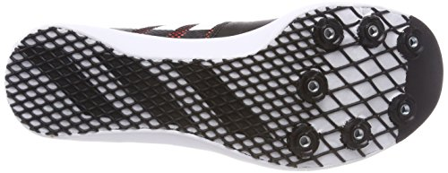 adidas Adizero LJ, Zapatillas de Atletismo Unisex Adulto Negro (Negbas/Ftwbla/Naranj 000)