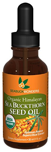 Cheap SeabuckWonders Organic Sea Buckthorn Seed Oil, 1 Ounce