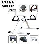 Mini Pedal Exerciser Bike Leg Workout Cycle Indoor Drive Medical Exercise Us