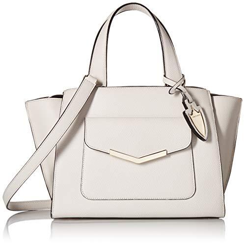(Time's Arrow Women's Chloe Mini Tote Socialite White Leather Handbag)