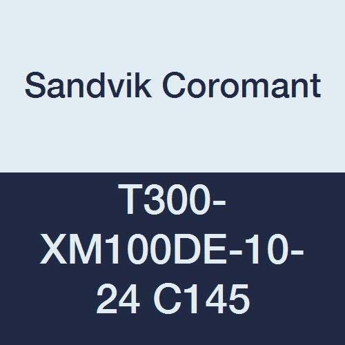 Sandvik Coromant HSS CoroTap 300 cutting tap with spiral flutes No Coolant T300-XM100DE-10-24 C145 Right Hand Cut