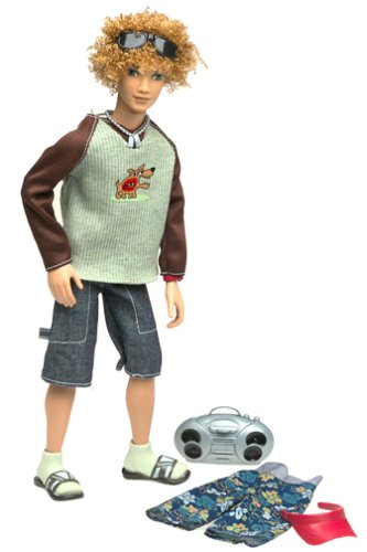 My Scene Doll Bryant - at school and at the beach fashion style - visor and mini -
