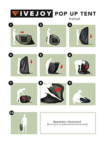 army tent setup instructions