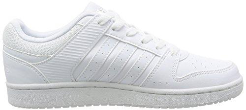 adidas VS HOOPSTER W - Zapatillas deportivas para Mujer, Blanco - (FTWBLA/FTWBLA/FTWBLA) 38 2/3