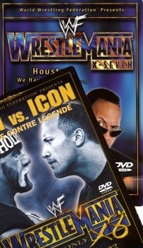 WWE - Wrestlemania X ( 2 pack ) 7 - Houston We Have A Problem... / 8 - Icon vs. Icon