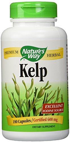 Nature's Way Kelp, 180 Capsules (Pack of 2)