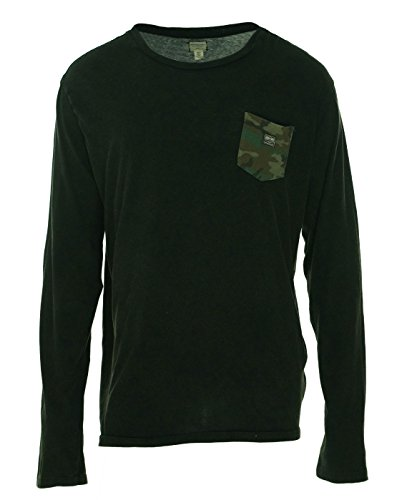 Denim & Supply Ralph Lauren Mens Cotton Pocket T-Shirt Black (Ralph Lauren Black Denim)