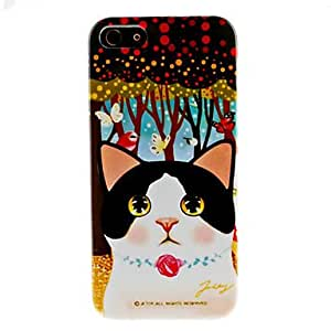 Cute Cat Pattern Hard Case for iPhone 5/5S