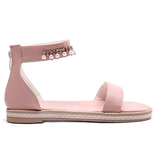 Plates Sandales Pink Mode Femmes JOJONUNU pSqOwBgp
