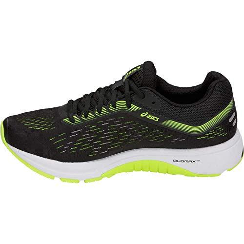 ASICS GT-1000 7 Men's Running Shoe, Black/Hazard Green, 7.5 D US by ASICS (Image #3)