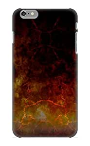 Ellent Iphone 6 Plus Case Tpu Cover Back Skin Protector Abstract Red Fire Heat For Lovers