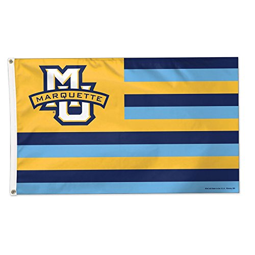 NCAA Marquette University 14575115 Deluxe Flag, 3' x 5' ()