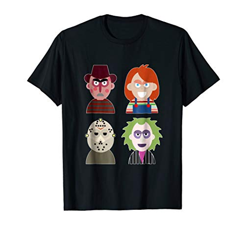 Evil Characters Halloween Costume T-Shirt Horror Movie Shirt -