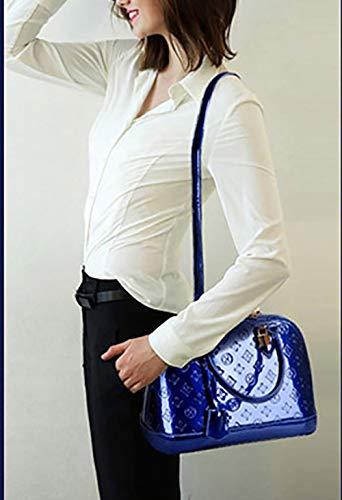 Cartable Sacs portés main DEERWORD portés Sacs Sacs Bleu Sacs Sacs à main épaule Femme Faux Cuir bandoulière ZFnq4