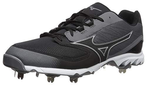 c6ce6856d813 Mizuno Men s 9-Spike Dominant Ic Low Metal Baseball Cleat Shoe