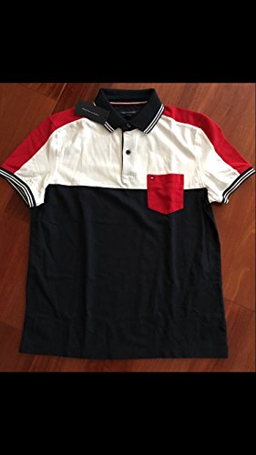 Tommy Hilfiger Men's Polo, Herren Poloshirt, Signature Polo, Size: Large