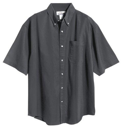 Tri Mountain 768 Recruit Teflon Stain Resistant Woven Shirt  Charcoal  L