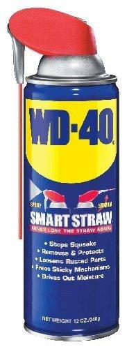 - 2 Pack WD-40 10032 Spray Lubricant with Smart Straw - 12-oz Aerosol (10132) by WD-40