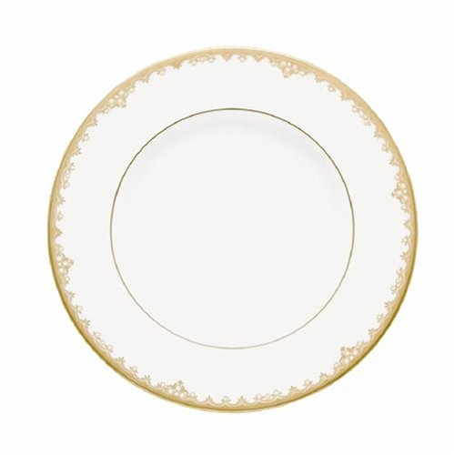 Lenox Federal Gold Bone China 9-Inch Accent Plate