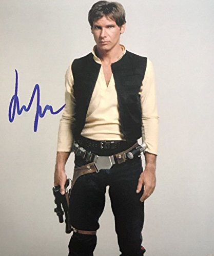 1942 Photograph (HARRISON FORD - Star Wars Han Solo - Signed 8x10 Photograph in Mint Condition COA PROOF)