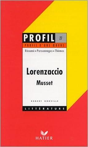 Resume de lorenzaccio research proposal on brand marketing