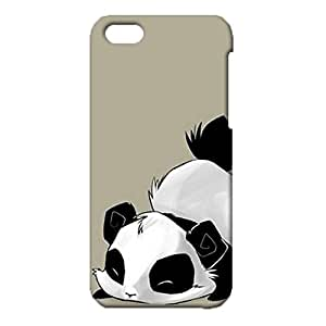iPhone 5c Phone Case Various Forms Of Action Panda Pattern Cover Back Snap on iPhone 5c Marvelous Fantasy Mobile Shell