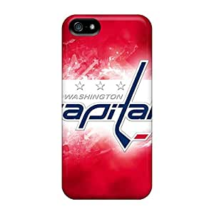 New Wash Capitals Tpu Case Cover, Anti-scratch StarFisher Phone Case For Iphone 5/5s
