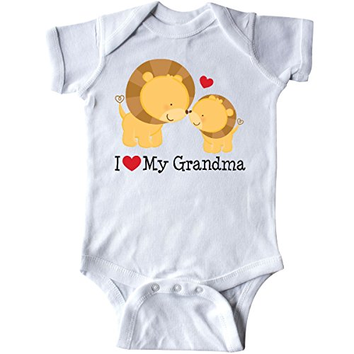 I Love My Grandma Onesies (Inktastic - I Love My Grandma gift Infant Creeper Newborn White)