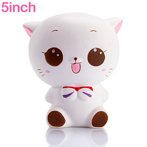 White Cat Soft Toy - 3