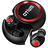 Wireless Earbuds,Otium Soar True Bluetooth Headphones Wireless Earphones Bluetooth 5.0 Auto Pairing HiFi Stereo Sound Sweat Proof Headset with Stylish Charging Case【Updated Version】