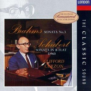 Brahms Clifford Curzon Sonata In F Minor Op 5 Intermezzo Op 117 No 1 Intermezzo Op 119 No3