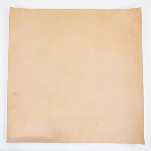 Import Vegetable Tan Cowhide Tooling Leather 8-9oz Pre-Cut ()