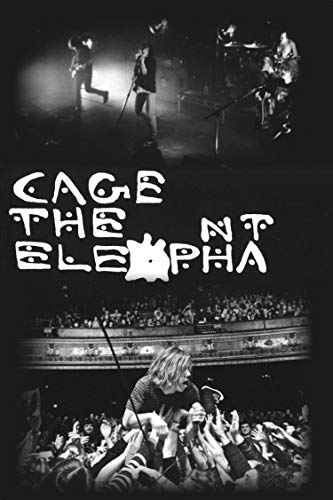 Buyartforless Cage The Elephant Group 36x24 Music Band Print Poster Decorative Art, Wall Décor, Black, White, Gray