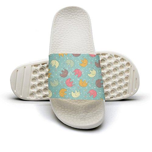 qiopw rtw Bathroom Shower Non-slip Sandal Indian Elephant Indoor Slipper Shoes For Women's