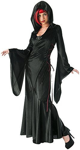 Long Black Dress Halloween Costumes (Rubie's Costume Co Women's Wicked Dress Costume, Black, Standard)